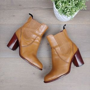 Marc By Marc Jacobs Tan Leather Chelsea Boot